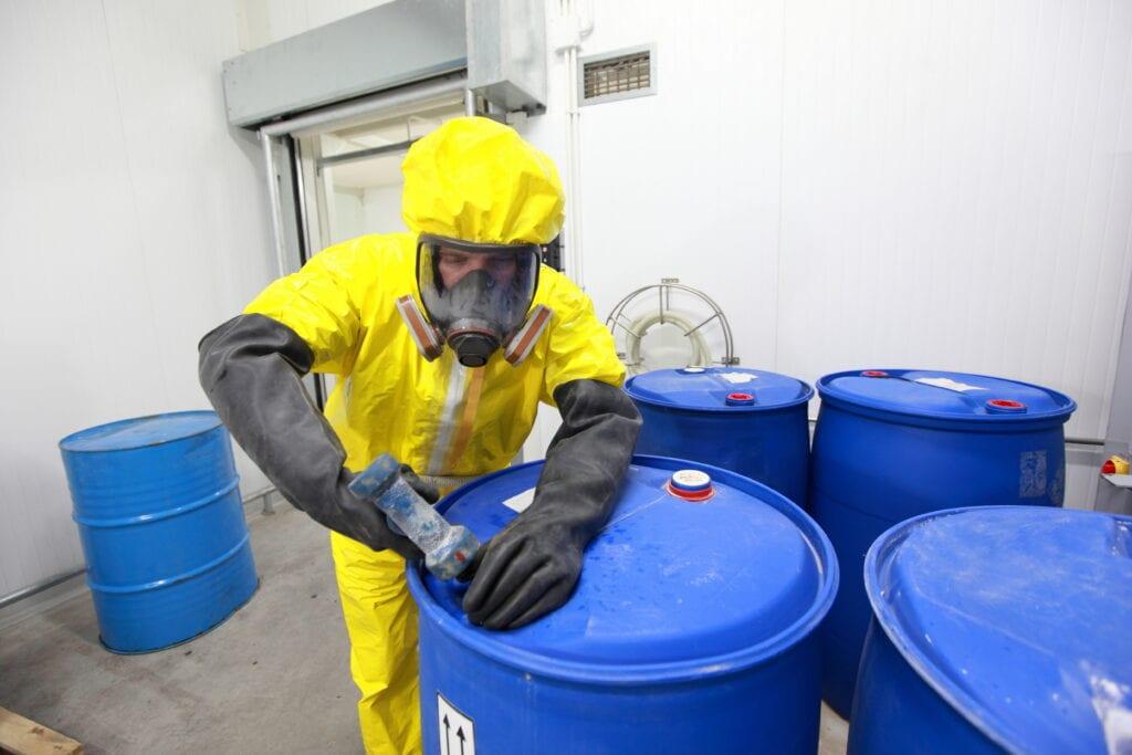 VCA in de chemische industrie